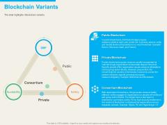 Understanding Blockchain Basics Use Cases Blockchain Variants Ppt Portfolio Summary PDF