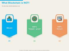 Understanding Blockchain Basics Use Cases What Blockchain Is Not Ppt Styles Design Ideas PDF