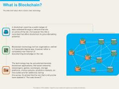 Understanding Blockchain Basics Use Cases What Is Blockchain Ppt Layouts Design Inspiration PDF