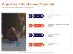 Understanding Business REQM Objectives Of Requirement Document Ppt Visual Aids Example File PDF