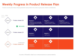 Understanding Business REQM Weekly Progress In Product Release Plan Microsoft PDF