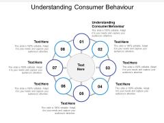 Understanding Consumer Behaviour Ppt PowerPoint Presentation Icon Good Cpb