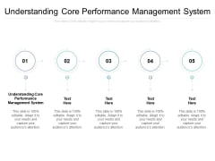 Understanding Core Performance Management System Ppt PowerPoint Presentation Show Summary Cpb