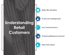Understanding Retail Customers Ppt Powerpoint Presentation Pictures Summary