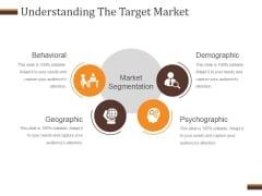 Understanding The Target Market Ppt PowerPoint Presentation Gallery