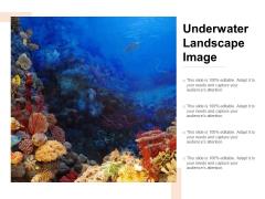 Underwater Landscape Image Ppt PowerPoint Presentation Ideas Design Ideas