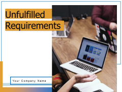 Unfulfilled Requirements Customer Requirements Market Analysis Ppt PowerPoint Presentation Complete Deck