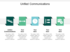 Unified Communications Ppt PowerPoint Presentation Pictures Summary Cpb
