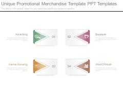 Unique Promotional Merchandise Template Ppt Templates