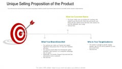 Unique Selling Proposition Of The Product Ppt Portfolio File Formats PDF
