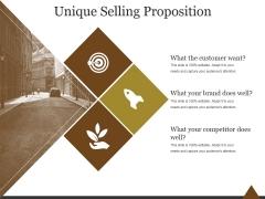 Unique Selling Proposition Ppt PowerPoint Presentation Outline