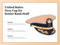United States Navy Cap For Senior Rank Staff Ppt PowerPoint Presentation Model Files PDF