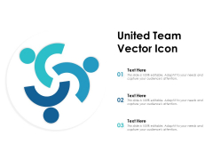 United Team Vector Icon Ppt PowerPoint Presentation Themes