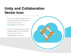 Unity And Collaboration Vector Icon Ppt PowerPoint Presentation File Designs Download PDF