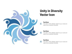 Unity In Diversity Vector Icon Ppt PowerPoint Presentation Professional Icon