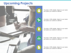 Upcoming Projects Ppt PowerPoint Presentation Icon Infographic Template