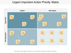 Urgent Important Action Priority Matrix Ppt PowerPoint Presentation Layouts Example Topics