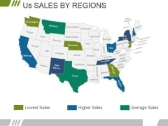 Us Sales By Regions Ppt PowerPoint Presentation Layouts Slides