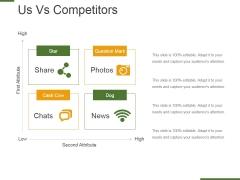 Us Vs Competitors Template 2 Ppt PowerPoint Presentation Outline Portfolio