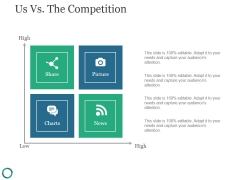Us Vs The Competition Ppt PowerPoint Presentation Background Images