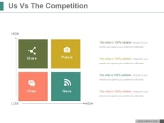 Us Vs The Competition Ppt PowerPoint Presentation Example 2015