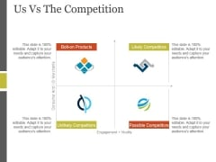 Us Vs The Competition Ppt PowerPoint Presentation Files