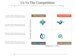 Us Vs The Competition Ppt PowerPoint Presentation Samples