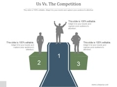 Us Vs The Competition Slide Ppt PowerPoint Presentation Examples