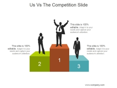 Us Vs The Competition Slide Ppt PowerPoint Presentation Templates
