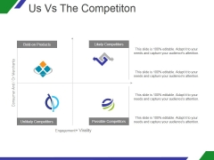 Us Vs The Competiton Ppt PowerPoint Presentation Inspiration