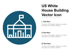 Us White House Building Vector Icon Ppt PowerPoint Presentation Model Introduction