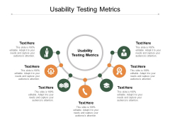 Usability Testing Metrics Ppt PowerPoint Presentation Gallery Picture Cpb