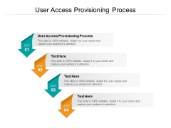 User Access Provisioning Process Ppt PowerPoint Presentation Portfolio Layouts Cpb