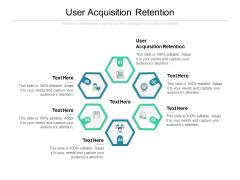 User Acquisition Retention Ppt PowerPoint Presentation File Elements Cpb