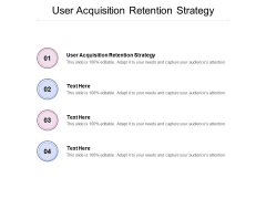 User Acquisition Retention Strategy Ppt PowerPoint Presentation Outline Smartart Cpb