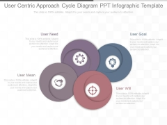 User Centric Approach Cycle Diagram Ppt Infographic Template