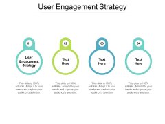 User Engagement Strategy Ppt PowerPoint Presentation Outline Samples Cpb