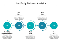 User Entity Behavior Analytics Ppt PowerPoint Presentation Infographics Example Introduction Cpb