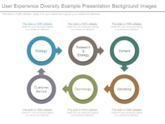 User Experience Diversity Example Presentation Background Images