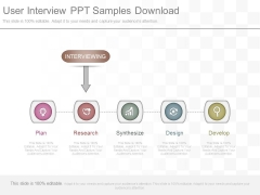 User Interview Ppt Samples Download