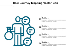 User Journey Mapping Vector Icon Ppt PowerPoint Presentation Layouts Visual Aids
