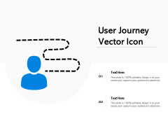 User Journey Vector Icon Ppt PowerPoint Presentation Layouts Graphics