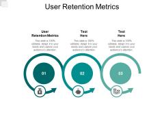 User Retention Metrics Ppt PowerPoint Presentation Slides Background Cpb