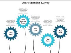 User Retention Survey Ppt PowerPoint Presentation Slides Slideshow Cpb