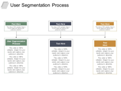 User Segmentation Process Ppt PowerPoint Presentation Outline Skills Cpb