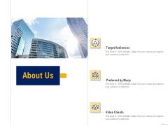 Using Balanced Scorecard Strategy Maps Drive Performance About Us Ppt Styles Design Templates PDF