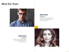 Using Balanced Scorecard Strategy Maps Drive Performance Meet Our Team Download PDF