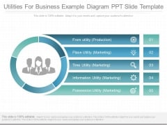 Utilities For Business Example Diagram Ppt Slide Template
