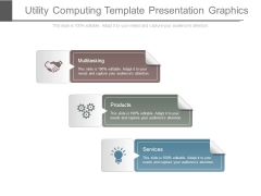 Utility Computing Template Presentation Graphics