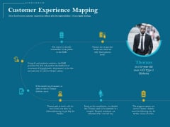 Utilizing Cyber Technology For Change Process Customer Experience Mapping Mockup PDF